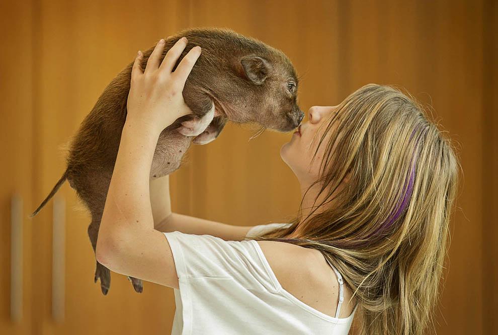 kidsanimals05 10 самых трогательных историй общения детей и животных