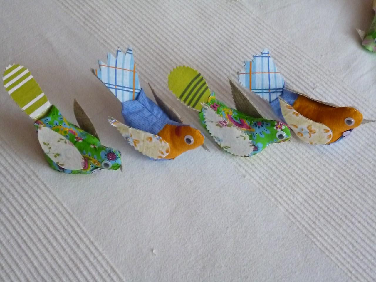 Птички своими руками дети 808