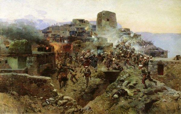 Оборона крепости Баязет