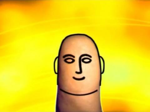 Большой палец - голова