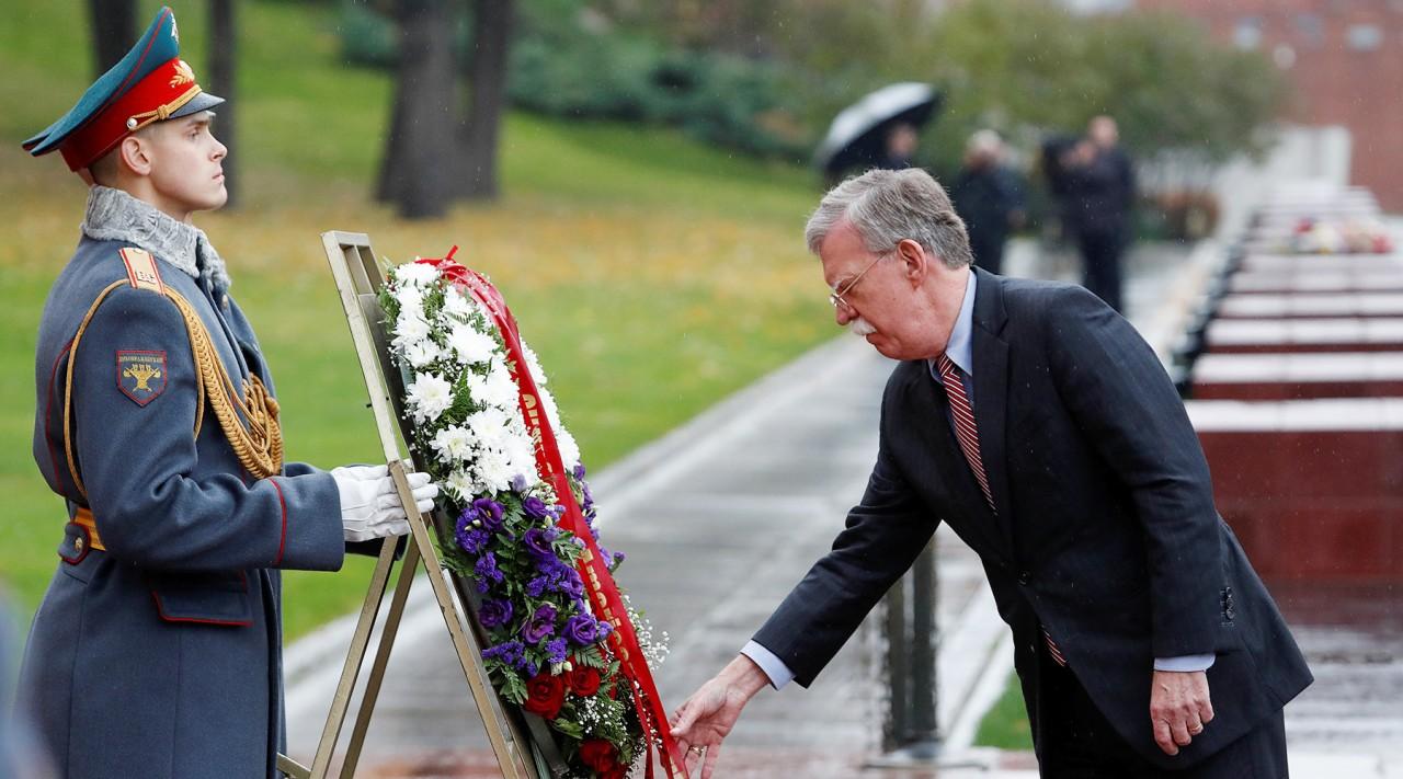 «Подготовка к Парижу»: как прошёл рабочий визит Джона Болтона в Россию.