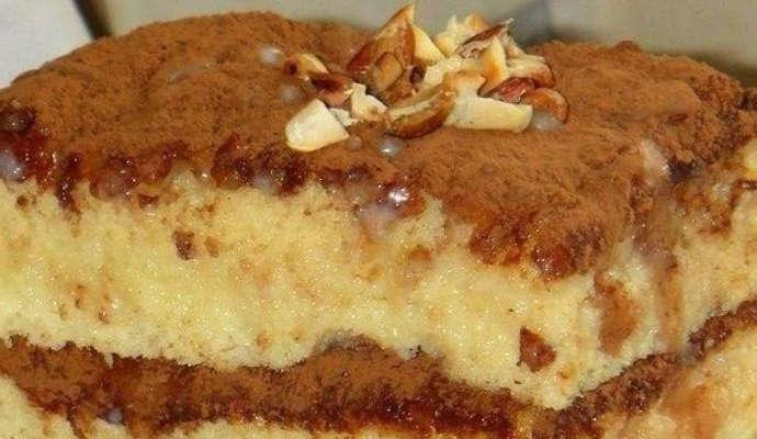 Пропитанный торт рецепт с фото