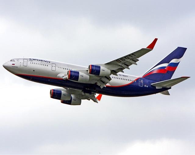 Российский самолет «страшно …