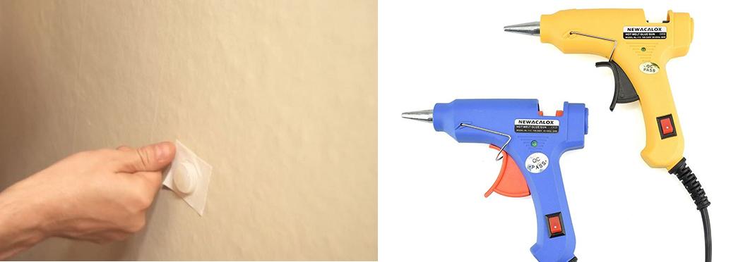 10 лайфхаков, как еще можно использовать клеевой пистолет