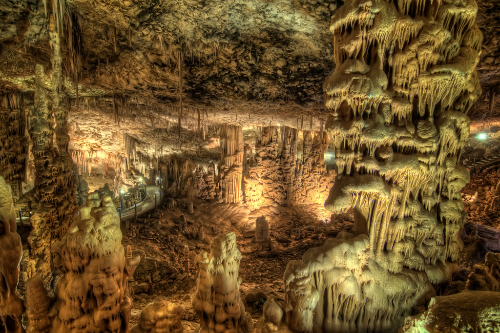 The Soreq Stalactite Cave in Israel1 Сталактитовый Израиль. Пещера Сорек