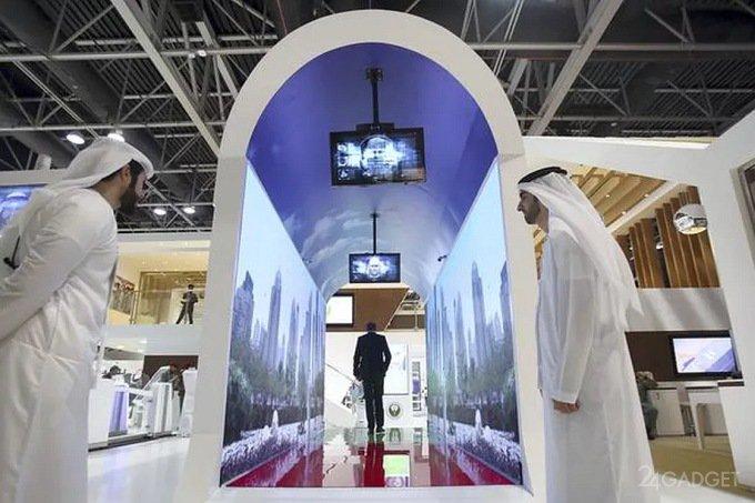 Виртуальный аквариум в аэропорту Дубая займётся идентификацией пассажиров