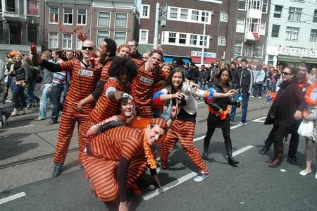 День Королевы в Амстердаме. Фоторепортаж.