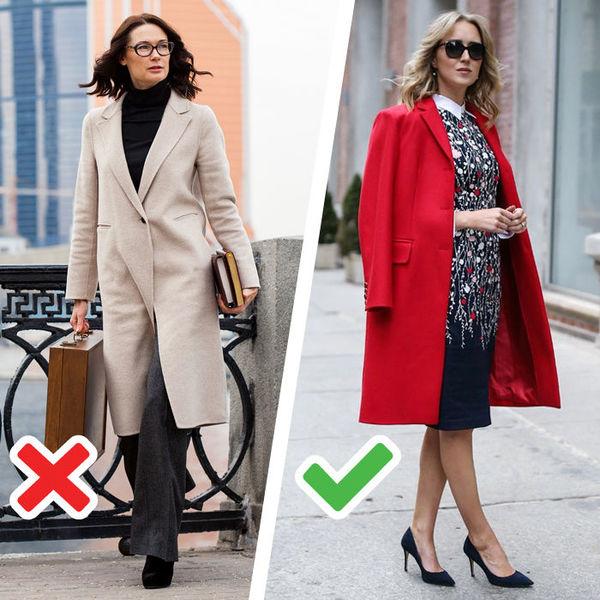 Как носить классическое пальто в 40 лет, чтобы выглядеть модно