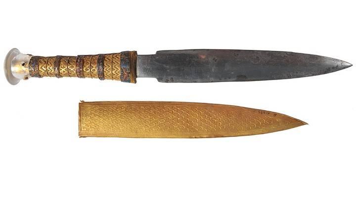 Кинжал из гробницы Тутанхамона