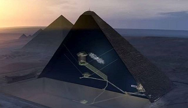 В тайной комнате Великой пирамиды может находится «метеоритный трон» фараона