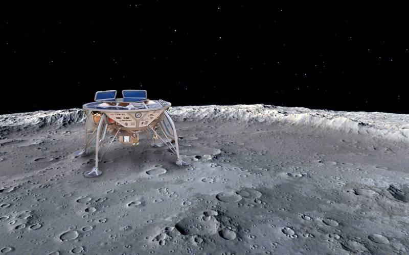 """В конце недели израильский """"лунопрыг"""" отправят на Луну"""