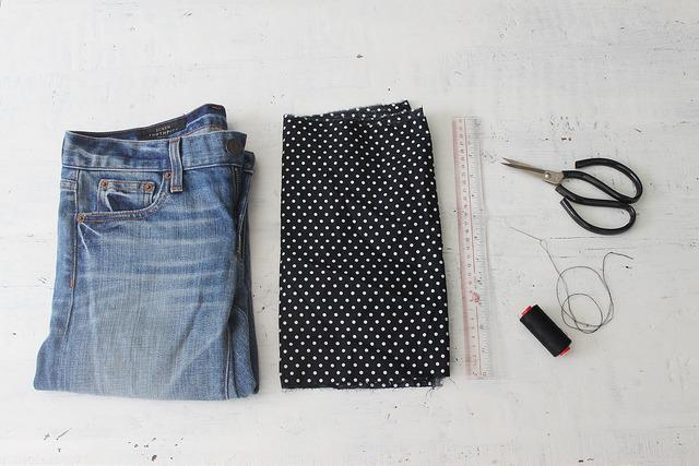Отвороты на джинсы своими руками