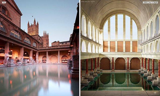 Римские бани, Бат, Англия