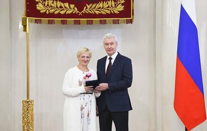 Собянин в День учителя вручил награды города выдающимся педагогам столицы