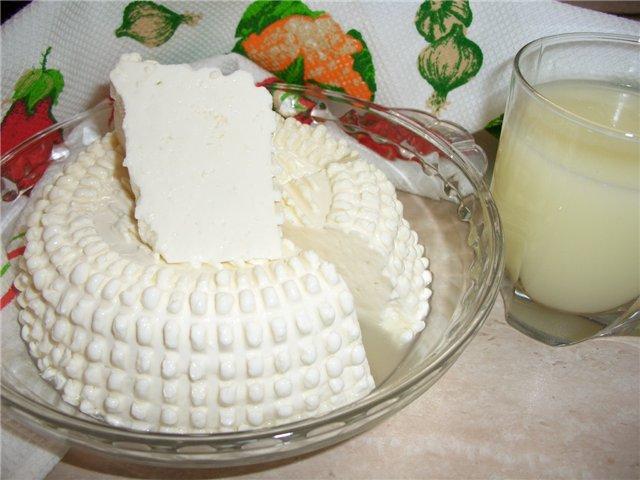 Сыр из простокваши в домашних условиях рецепт с пошагово