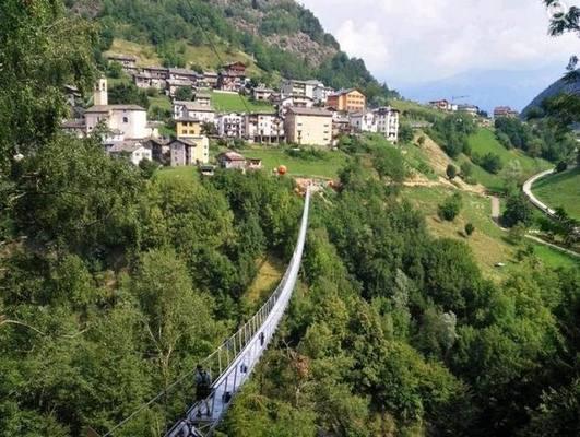 Путь в небо: новый мост в Италии стал самым высоким в Западной Европе
