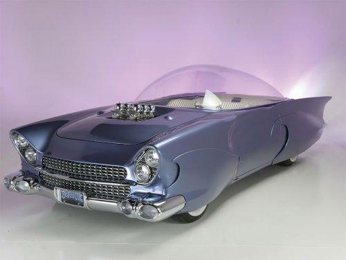 """Форд """"Beatnik"""" Bubbletop 1955 года: странный и удивительный автомобиль"""