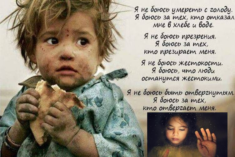 Семье Порошенко от погибших детей Донбасса