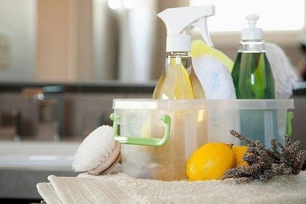 7 уникальных рецептов безопасных чистящих средств.