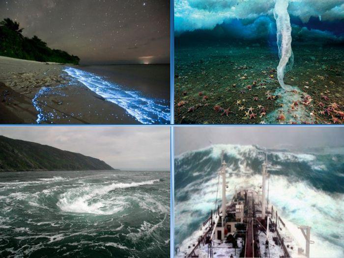 явления, океан