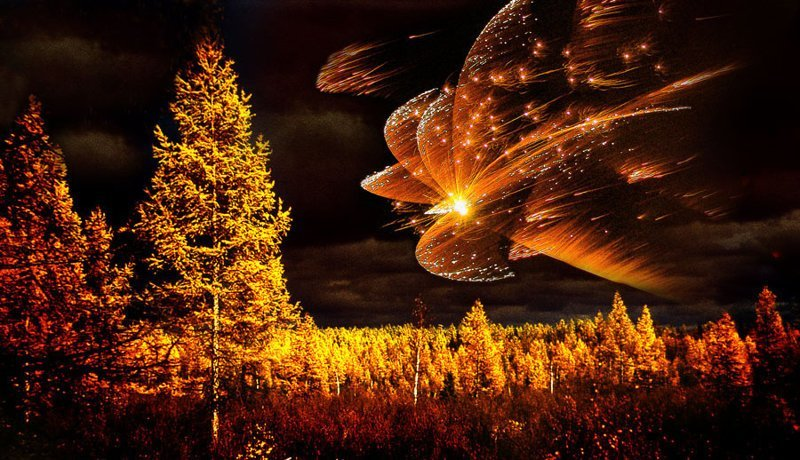 Природное явление, метеорит …