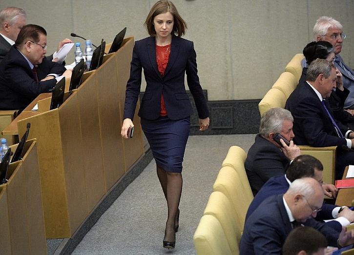 Наталья Поклонская начала ру…