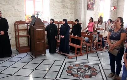 В Сирии вновь открылся монастырь святой Феклы