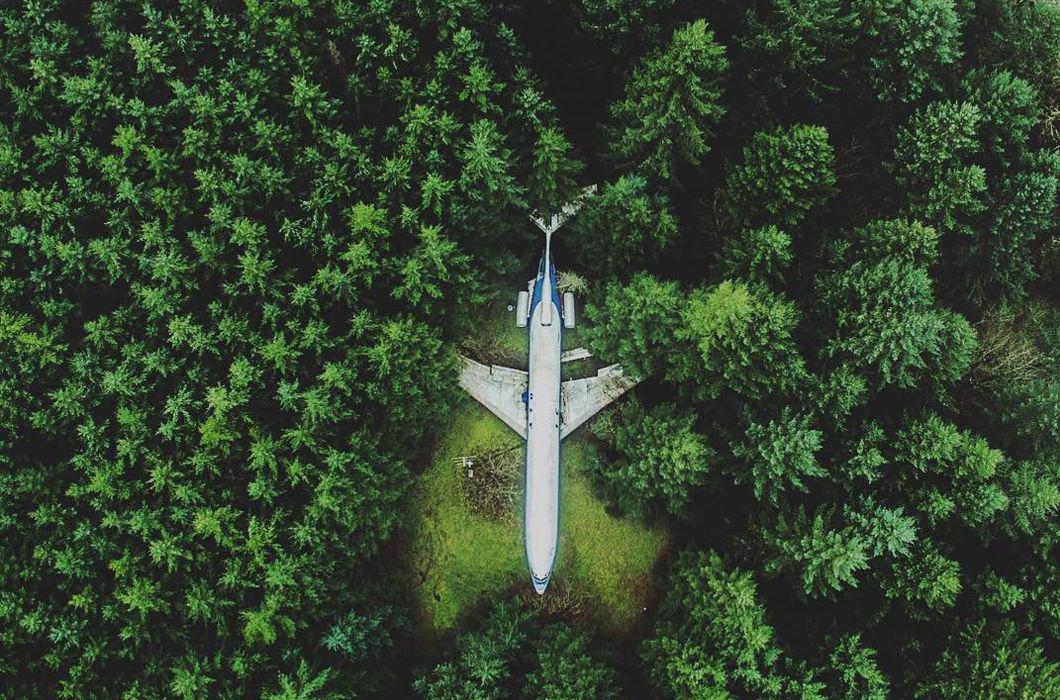 Наша планета с высоты полета дрона