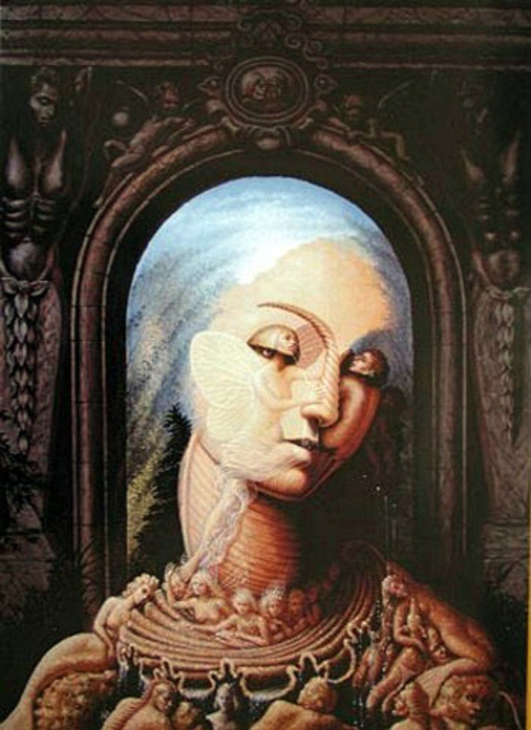 Картины художника Октавио Окампо 38