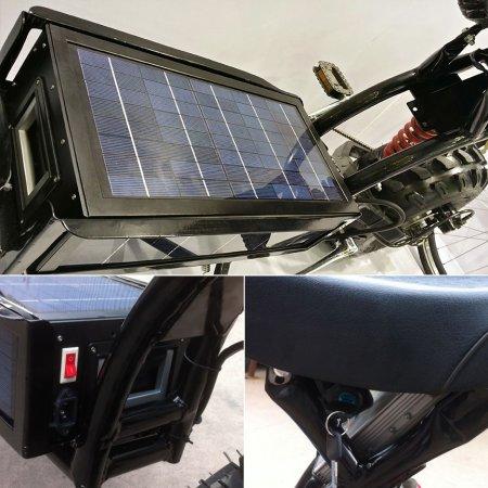 Электробайк на солнечных батареях - Фото 3