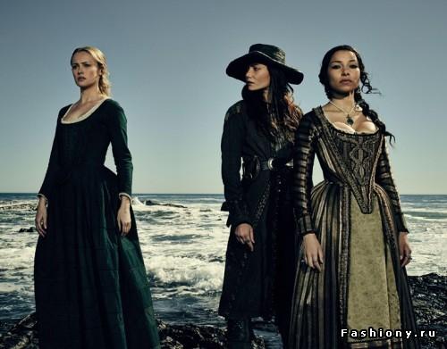 Женские костюмы и образы из 'Черных парусов'