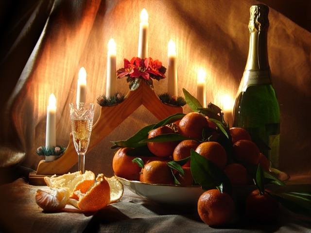 Заговоры на новогодние блюда