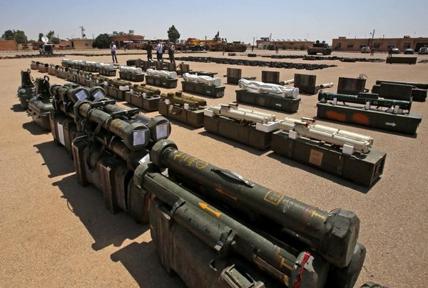 Сирийские военные получили очередную партию оружия США