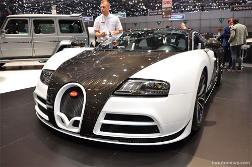 Bugatti Veyron Vivere от Mansory