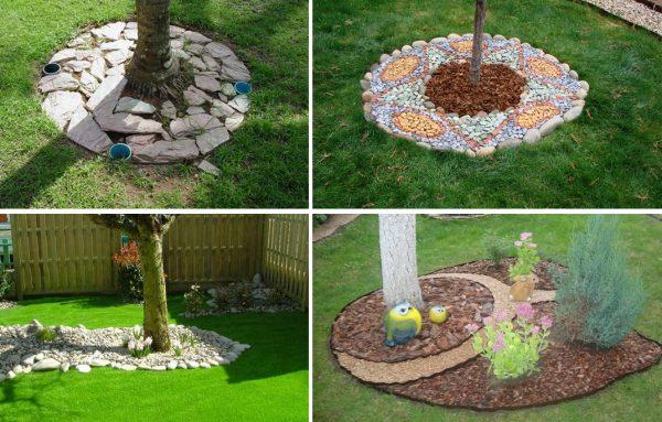 Как помочь дереву и украсить сад одновременно? Секреты приствольных кругов