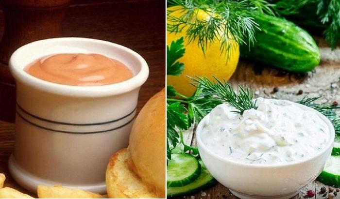 Грибной соус из шампиньонов со сметаной.  Фото: green-color.ru.
