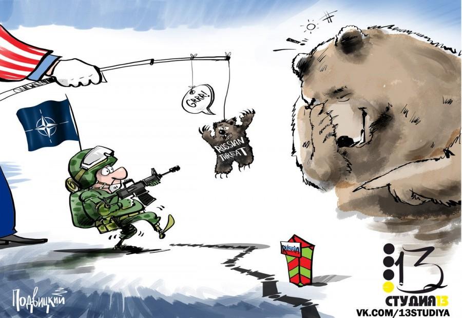 Россия победила НАТО даже не…