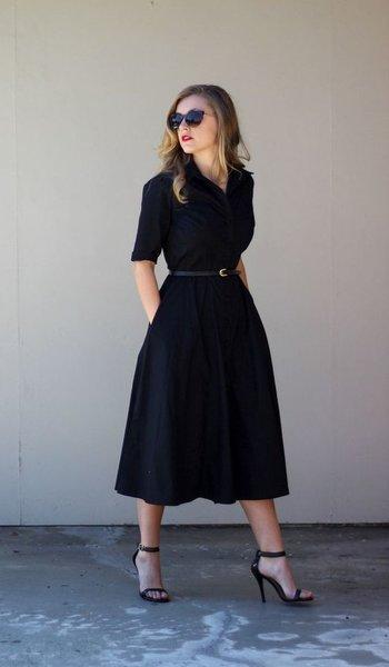 С чем носить платье-рубашку «в пол»: 10 идей для самых-самых