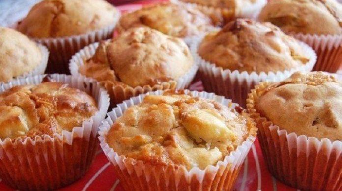 Обалденные кексы с яблоками