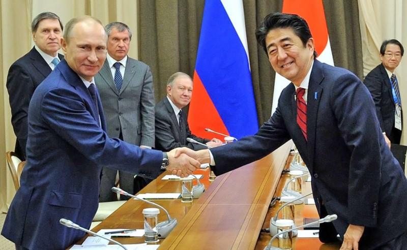Россия отдаст Японии два острова?