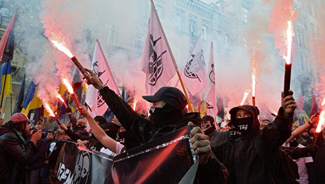 Хеллоуин в Киеве: факельный …