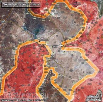 Боевики не могут остановить сирийскую армию, до Идлиба 40 км