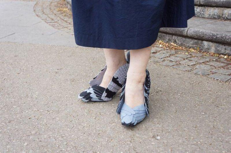 Новости моды для народа. Туфли-голуби.