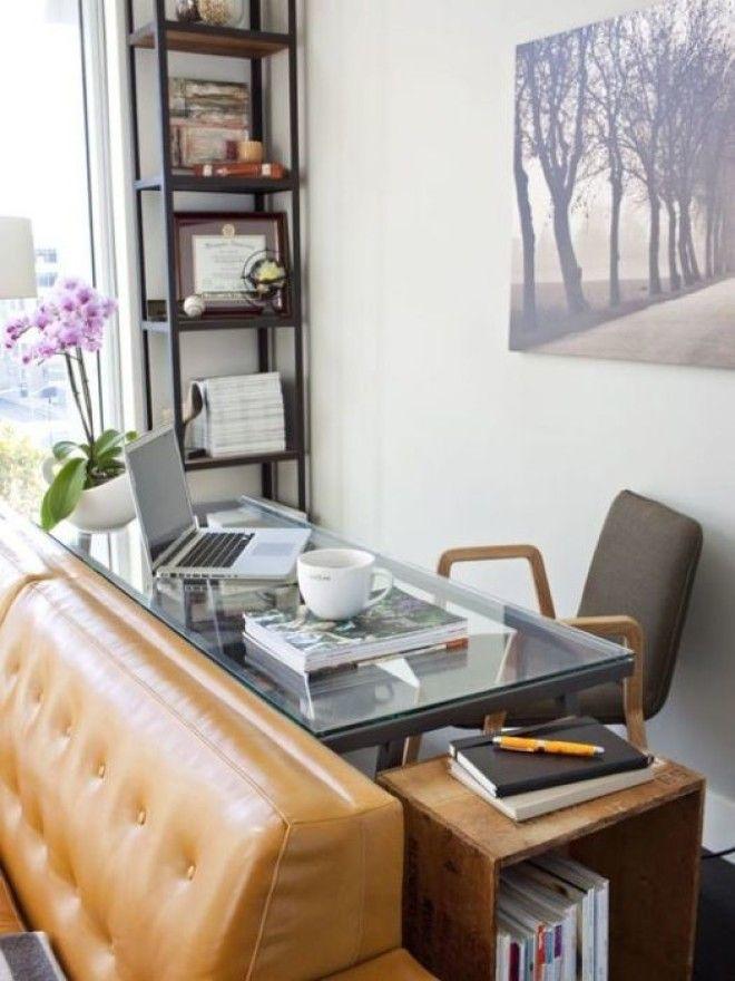 Стеклянный стол станет изюминкой интерьера