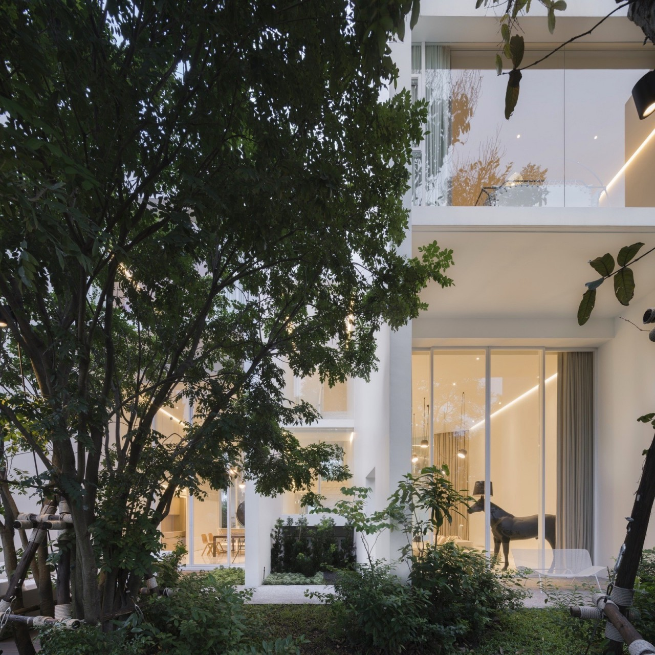 Гнездышко ландшафтного дизайнера в Таиланде
