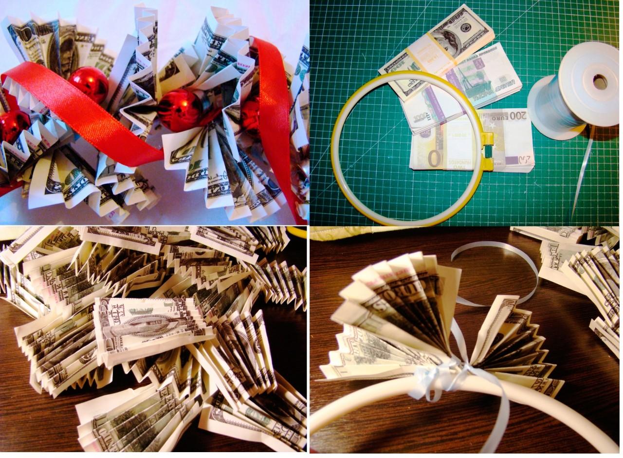 Подарок на свадьбу оригинально оформить подарок деньги 77