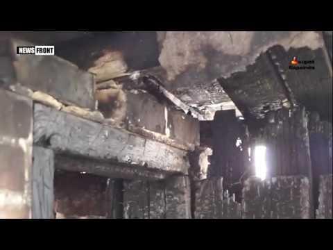 Армия Потрошенко специально обстреливает мирное население поселка Трудовские