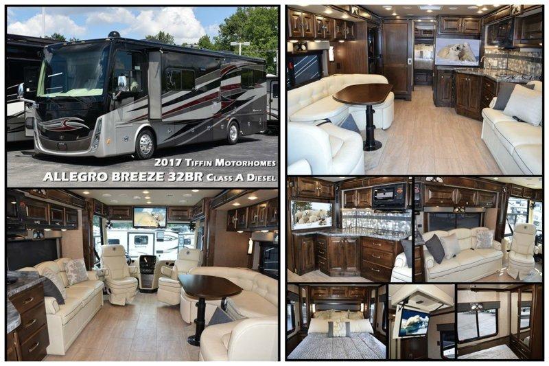 ALLEGRO BREEZE 32BR Class A Diesel by Tiffin Motorhomes автомир, дома на колесах, красота, удобство, чудеса