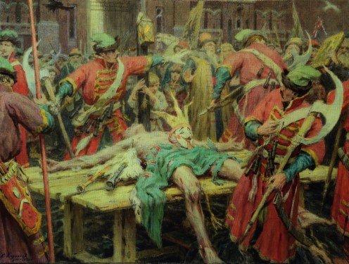 Как казнили Лжедмитрия?