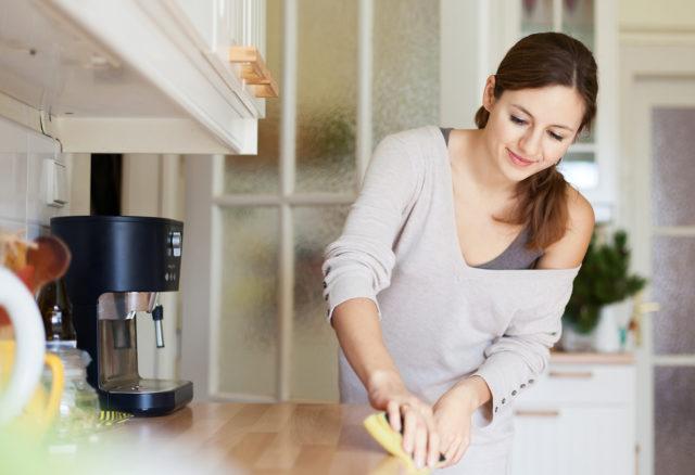 Как убрать кухню всего за 20 минут